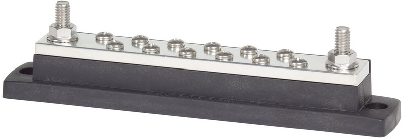 Blue Sea Systems DualBus 100A Common BusBars 10 Circuit New