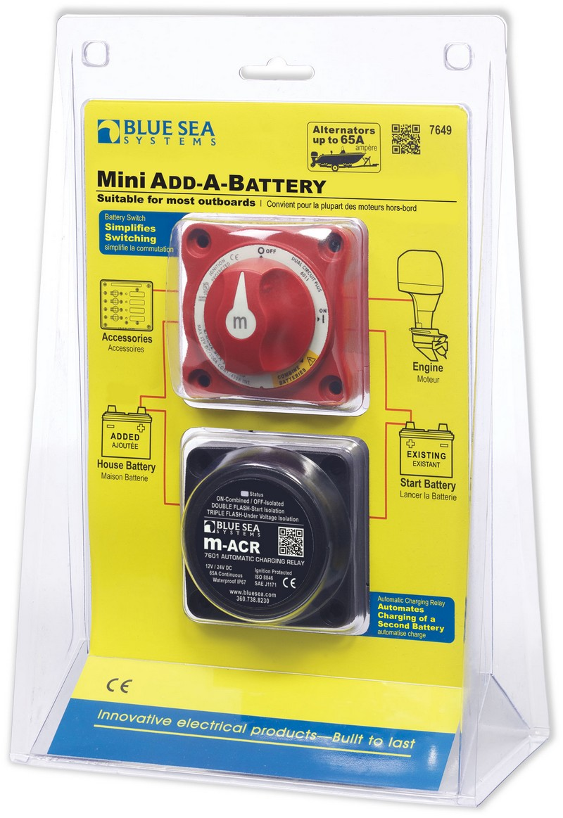 Mini Add-A-Battery Kit - 65A on