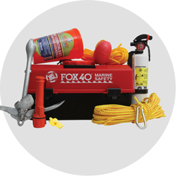 Details about  /NEW FOX 40 BOAT SAFTEY KIT This kit has items required by law to have on boat