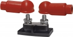 "PowerBar Dual BusBar - Two 3/8""-16 Stud and Insulators"