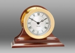 Chelsea Presidential Clock in Brass