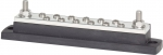 "MaxiBus 250A BusBar - Two 5/16""-18 Studs and Twelve #10-24 Screws"