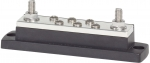 "MaxiBus 250A BusBar - Two 5/16""-18 Studs and Six #10-24 Screws"