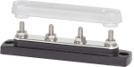 "Common 150A BusBar - Four 1/4""-20 Studs with Cover"