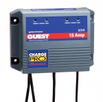15 Amp Triple Output Charge Pro Battery Charger, 15A (5/5/5), 12/24/36V, 3 Bank, 120V Input