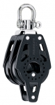 Double Swivel Block with Becket - 40mm