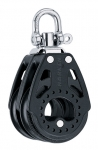 Double Swivel Block - 75mm