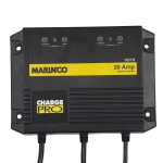 Charger 20A (10/10) / 12/24V 2 Bank 120V Input Marinco On-Board Battery
