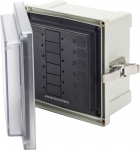 SMS Surface Mount System Panel Enclosure - 6 Circuit Blank