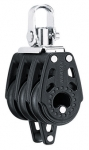 Triple Swivel Block with Becket - 29mm
