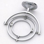 Weems & Plath Chrome Gimbal For Mini Yacht Lamp