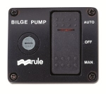 3-Way Lighted Rocker Bilge Panel Switch