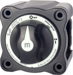 m-Series Mini On-Off Battery Switch with Knob - Black