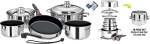 Magma Cookware Nesting Gourmet NoniStick
