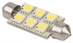 LED Replacement Bulb, Warm White, SV8.5 socket