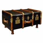 Stateroom Trunk Table, Black