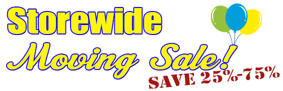 Storewide Moving Sale!