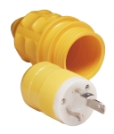 30A 125V Male Plug and Cover