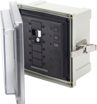 SMS Surface Mount System Panel Enclosure - 120V AC / 30A ELCI Main - 3 blank circuit positions
