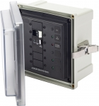 SMS Surface Mount System Panel Enclosure - 120V AC / 50A ELCI Main - 2 blank circuit positions