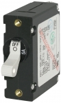 A-Series White Toggle Circuit Breaker - Single Pole