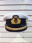 Captain's Hat W/Merchant Marine Badge