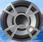 "Clarion CMQ2512W - 10"" Single 4-OHM High Performance Water Resistant Subwoofer"