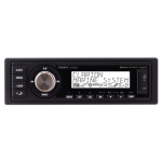 Clarion M508 Marine USB/MP3/WMA Receiver With Built-In Bluetooth