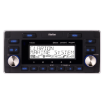 Clarion M608 Marine Bluetooth Watertight 4-Zone Digital Media Receiver